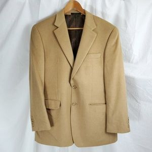 Ralph Lauren Men's Sports Jacket Blazer Camel 40R